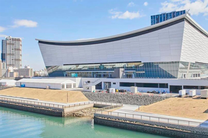 Arenas das Olimpíadas de Tóquio utilizam painéis de energia solar