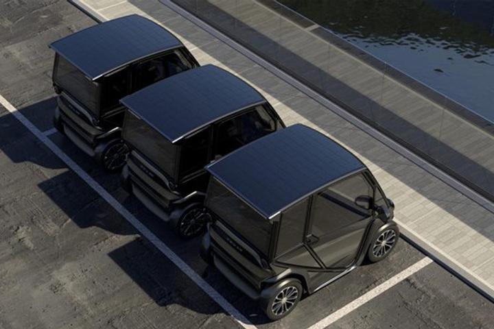 Carro de US$ 6 mil criado por startup é movido somente a energia solar